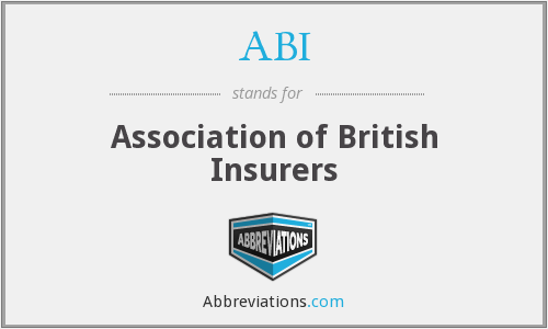 ABI - Association of British Insurers