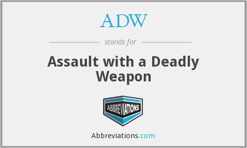 What does ADW stand for?