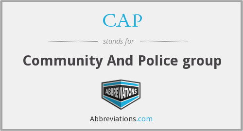 CAP - Community And Police group