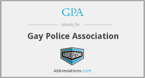 GPA - Gay Police Association