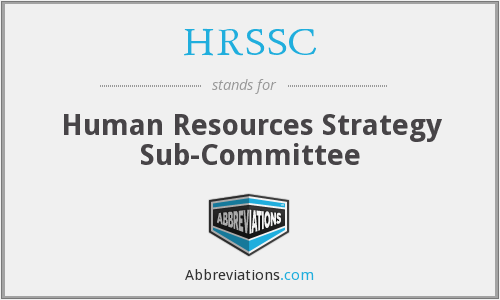 HRSSC - Human Resources Strategy Sub-Committee