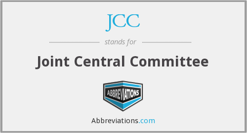 JCC - Joint Central Committee