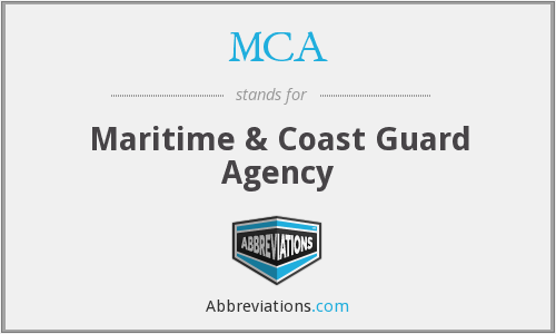 MCA - Maritime & Coast Guard Agency
