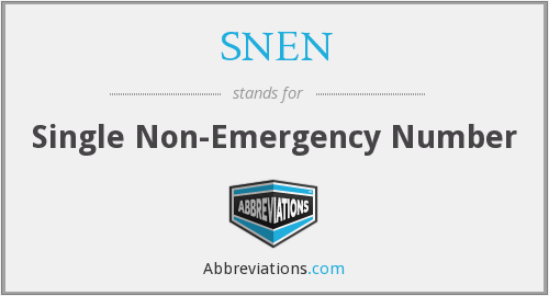 What does SNEN stand for?