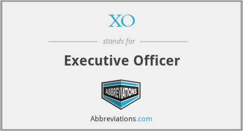 XO - Executive Officer