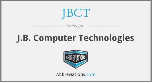 What does JBCT stand for?