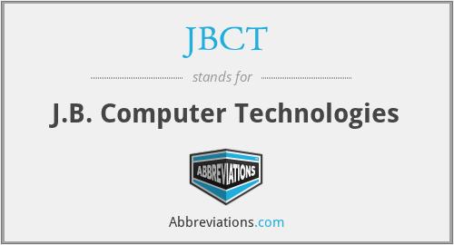 JBCT - J.B. Computer Technologies