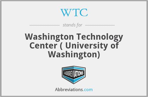 WTC - Washington Technology Center ( University of Washington)