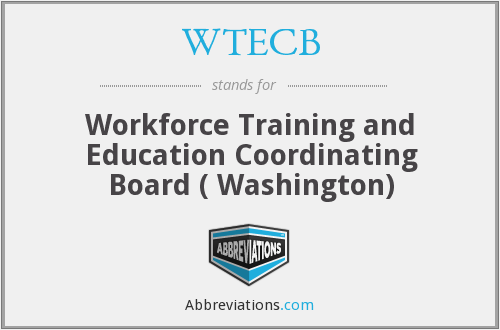 What does WTECB stand for?