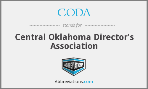 CODA - Central Oklahoma Director's Association