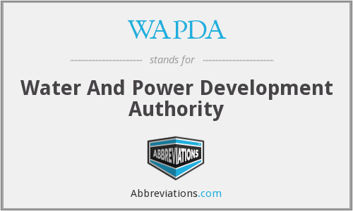 WAPDA - Water And Power Development Authority