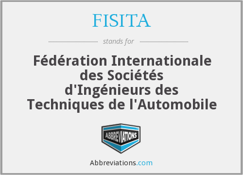 What does FISITA stand for?