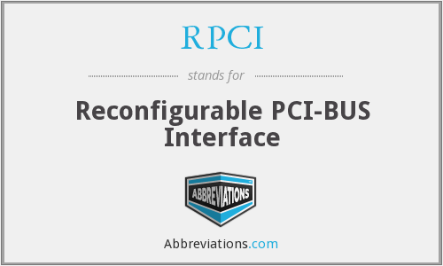What does RPCI stand for?