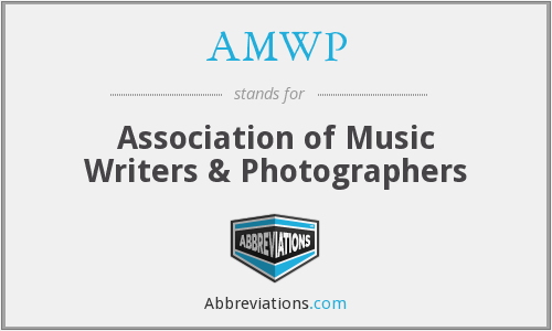 What does AMWP stand for?