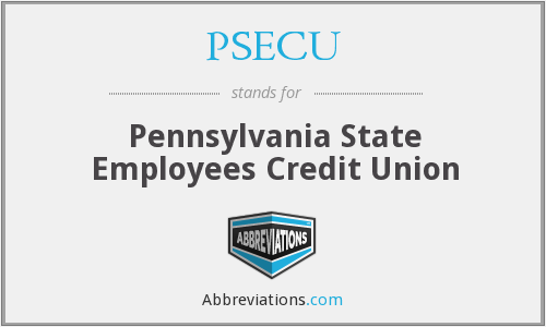 What does PSECU stand for?