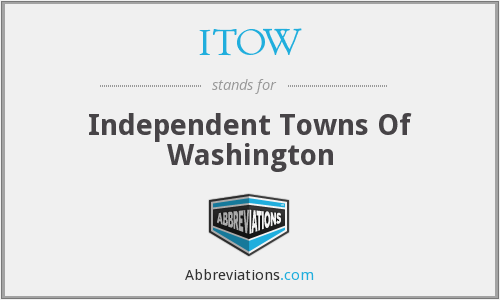 ITOW - Independent Towns Of Washington