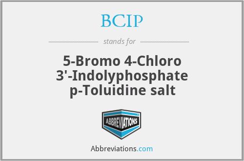 BCIP - 5-Bromo 4-Chloro 3'-Indolyphosphate p-Toluidine salt