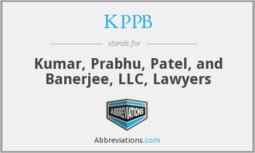 KPPB - Kumar, Prabhu, Patel, and Banerjee, LLC, Lawyers