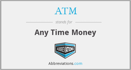 ATM - Any Time Money