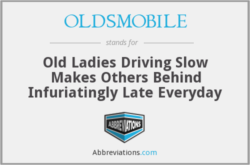 What does OLDSMOBILE stand for?