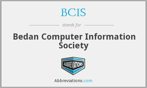 BCIS - Bedan Computer Information Society