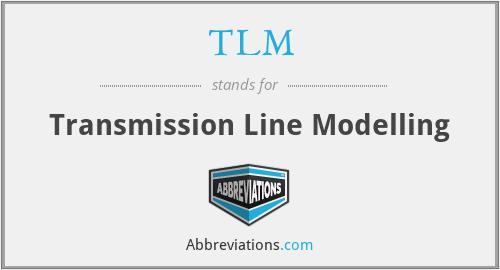 TLM - Transmission Line Modelling