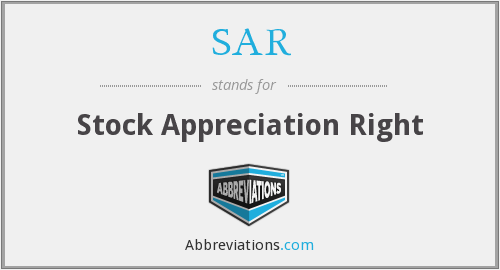 What does appreciation stand for?