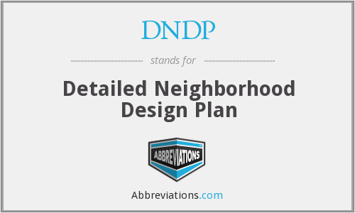 What does DNDP stand for?