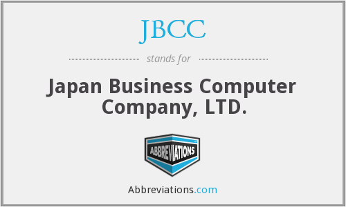 JBCC - Japan Business Computer Company, LTD.