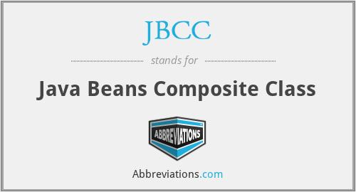 JBCC - Java Beans Composite Class