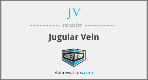 JV - Jugular Vein