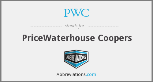 PWC - PriceWaterhouse Coopers