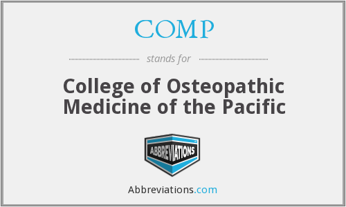 COMP - College of Osteopathic Medicine of the Pacific