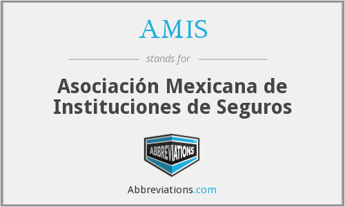 What does AMIS stand for?