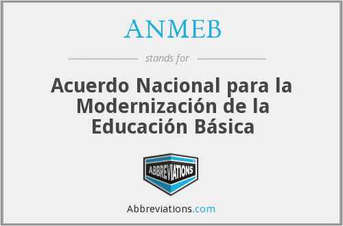 What does ANMEB stand for?