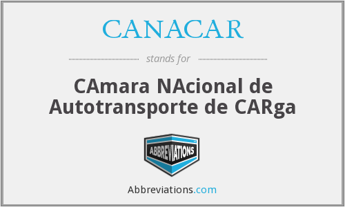 What does CANACAR stand for?