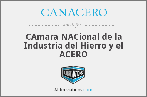 What does CANACERO stand for?