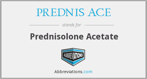 What does PREDNIS ACE stand for?