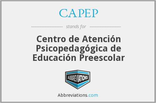 What does CAPEP stand for?
