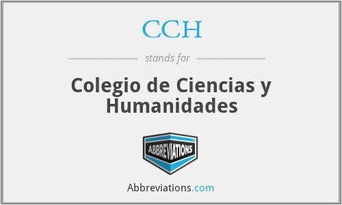 CCH - Colegio de Ciencias y Humanidades