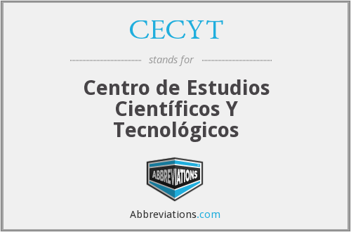 What does CECYT stand for?