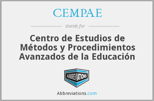 What does CEMPAE stand for?