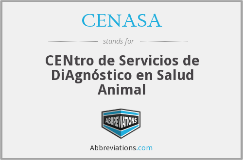 What does CENASA stand for?