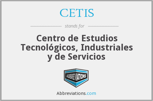 What does CETIS stand for?
