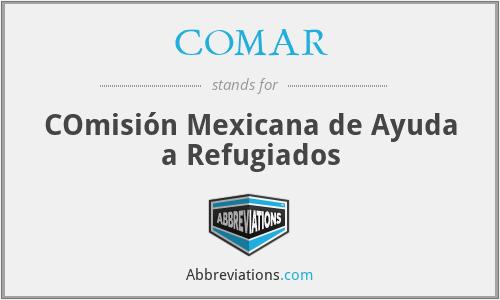 COMAR - COmisión Mexicana de Ayuda a Refugiados