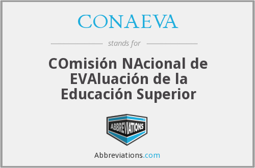 What does CONAEVA stand for?
