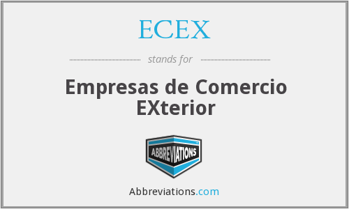 What does ECEX stand for?