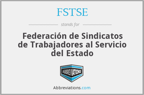 What does FSTSE stand for?