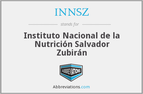 What does INNSZ stand for?