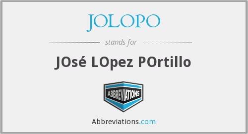 What does JOLOPO stand for?
